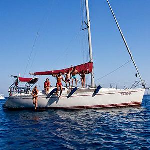 Barca a vela skipper